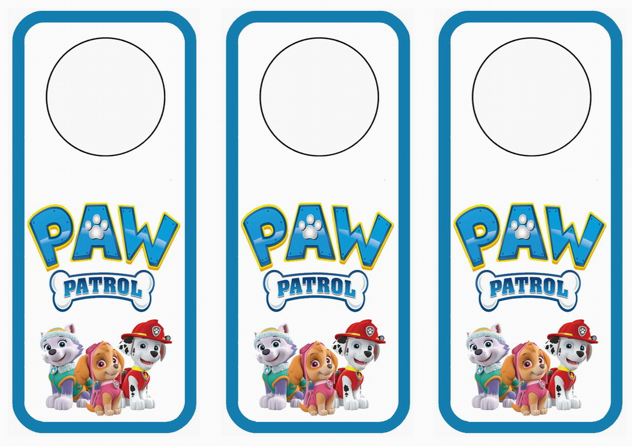 Free coloring pages of name labels paw patrol