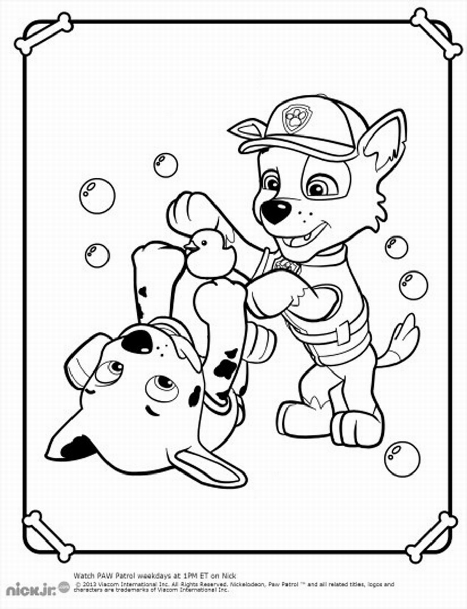 Image Result For Paw Patrol Coloring Page Jpg