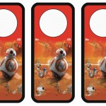 Star Wars – The Force Awakens Door Hangers