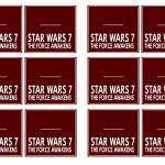 Star Wars – The Force Awakens Name Tags
