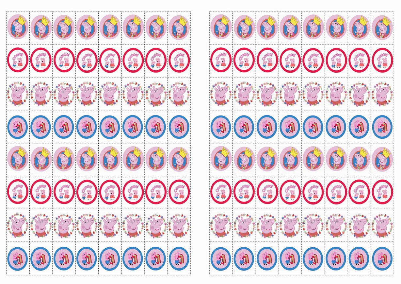 Peppa Pig Stickers | Birthday Printable