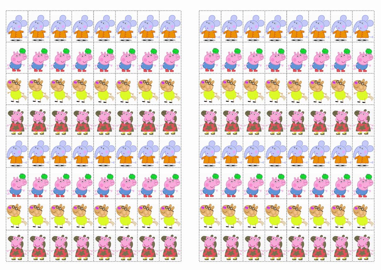 Winnie The Pooh Wall Sticker Peppa Pig Stickers Birthday Printable