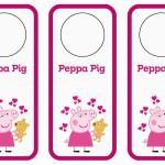Peppa Pig Door Hangers