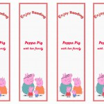 Peppa Pig Bookmarks