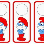 Smurfs Door Hangers