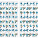 Smurfs Stickers Birthday Printable
