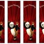Kung Fu Panda Bookmarks