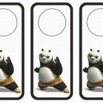 Kung Fu Panda Door Hangers