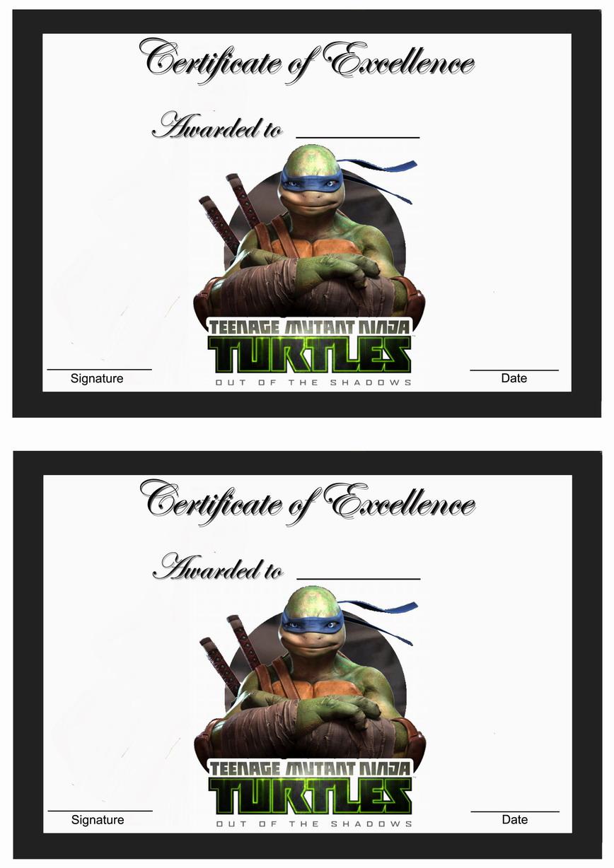 Teenage Mutant Ninja Turtles Awards