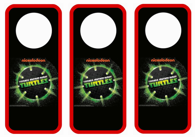 Teenage Mutant Ninja Turtles Door