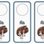 The Secret Life Of Pets Door Hangers