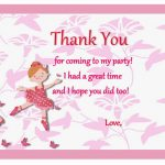 Ballet  Thank you Cards
