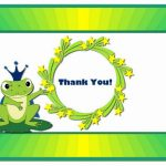 Frog Thank you Cards
