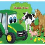 John Deer Thank you Cards
