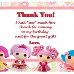 Lalaloopsy Thank you Cards