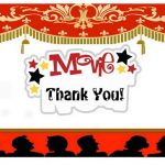 Movie Thank you Cards