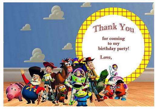 Toy Story Birthday Printable