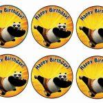 Kung Fu Panda – Cupcake Toppers
