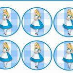 Alice in Wonderland – Cupcake Toppers