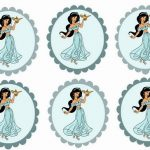 Princess Jasmine – Cupcake Toppers