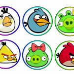 Angry Birds – Cupcake Toppers
