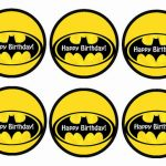 Batman – Cupcake Toppers