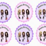 Bratz – Cupcake Toppers