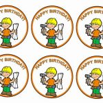 Construction – Cupcake Toppers