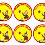 Curious George – Cupcake Toppers