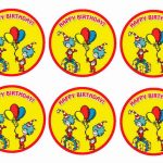 Dr Seuss – Cupcake Toppers
