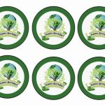 Eco Friendly – Cupcake Toppers