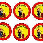 Firefighters – Cupcake Toppers