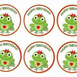 Frog – Cupcake Toppers