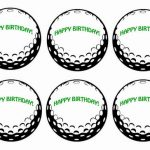 Golf – Cupcake Toppers