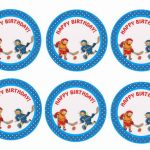 Hockey – Cupcake Toppers