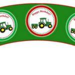 John Deer Tractor – Cupcake Wrappers