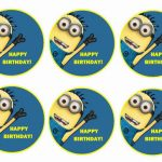 Despicable Me – Cupcake Toppers
