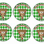 Pizza – Cupcake Toppers