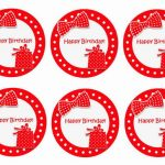 Polka Dots – Cupcake Toppers