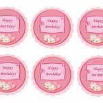 Sleepover Party – Cupcake Toppers