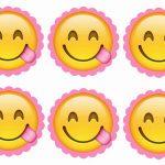 Emoji – Cupcake Toppers