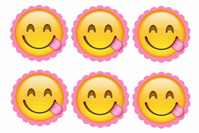 Emoji – Cupcake Toppers | Birthday Printable