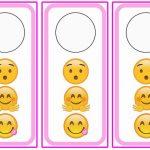 Emoji Door Hangers
