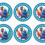 Trolls Holiday – Cupcake Toppers