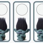 Trolls Holiday Door Hangers