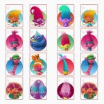 Trolls Holiday Stickers